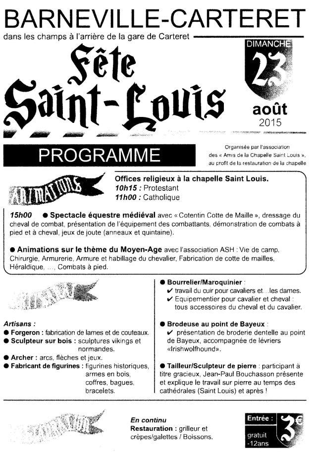 SaintLouis Programme 001